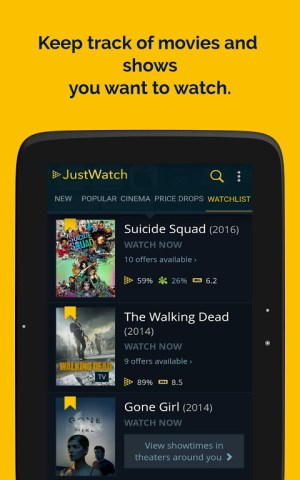 JustWatch - Search Engine for Streaming and Cinema 2.5.13 Screen 13