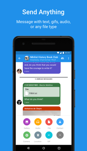 Signal Private Messenger 4.43.8 Screen 3