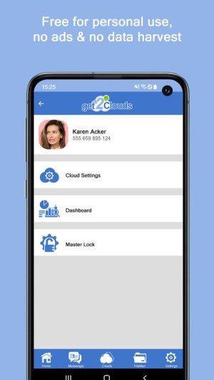 get2Clouds - Privacy & Security app 1.0.59 Screen 7