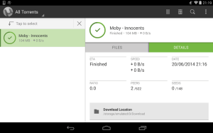 µTorrent® Pro - Torrent App 6.1.8 Screen 3