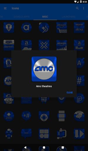 Blue Icon Pack ✨Free✨ 3.8 Screen 6