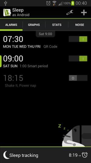 Sleep as Android 20130901-fullad Screen 8