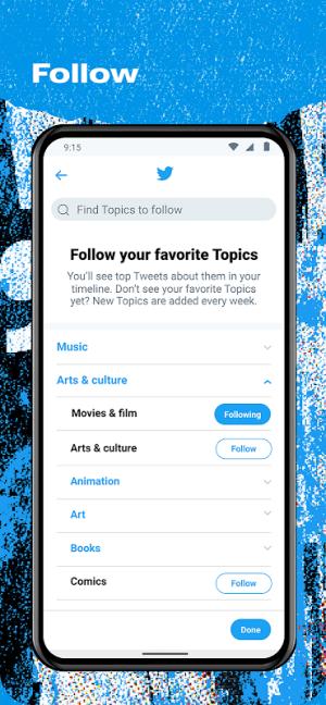 Twitter 8.73.0-release.00 Screen 5