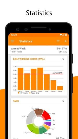 Timesheet - Time Tracker v2.7.6 Screen 6