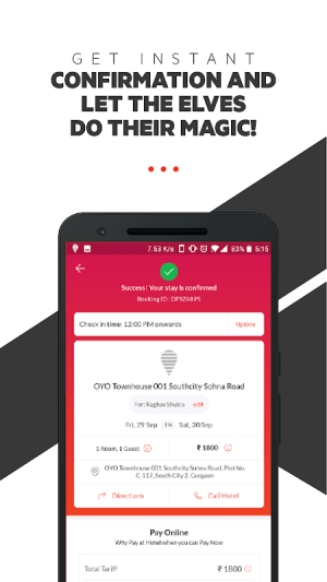 OYO: Compare Hotels, Find Deals & Book Cheap Rooms 4.4.59 Screen 5