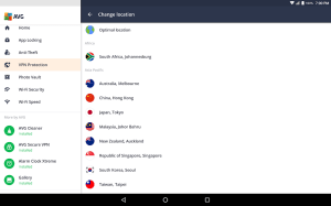 Android AntiVirus PRO Android Security Screen 4