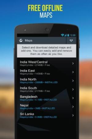 NaviMaps: 3D GPS Navigation 3.0.0 Screen 1