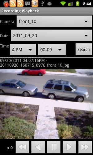 IP Cam Viewer Basic 7.0.0c Screen 3