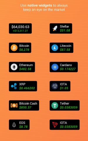 Coin Stats - Crypto portfolio tracker 2.2.0.4 Screen 5
