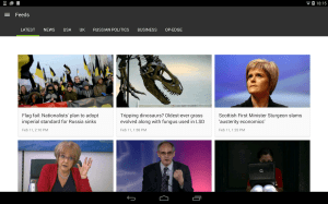 RT News (Russia Today) 3.5.4 Screen 12