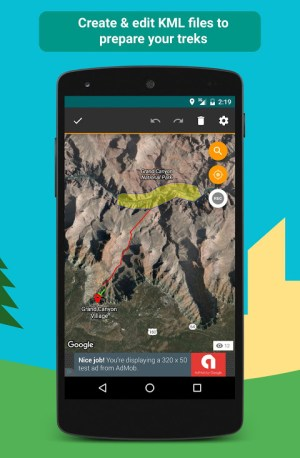 E-walk Free - Offline hiking & trekking 1.0.41 Screen 5