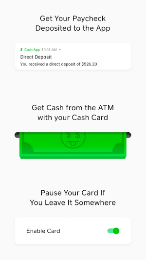Cash App 2.52.0 Screen 3
