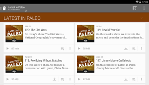 BeyondPod Podcast Manager 4.1.41 Screen 10