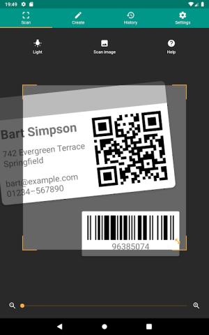 QR & Barcode Reader 2.6.9-L Screen 5