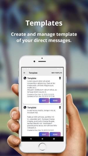Android SendZ   #1 Best Direct Message Sender Screen 2