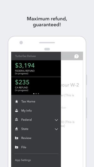 TurboTax Tax Return App – Max Refund Guaranteed 5.8.1 Screen 3