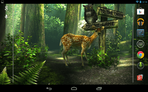 Android Forest HD Screen 6