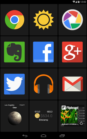 Android BIG Launcher Screen 8