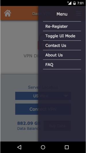 Dash VPN 3.041 Screen 4