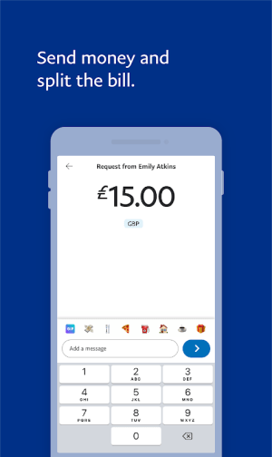 Android PayPal Screen 2