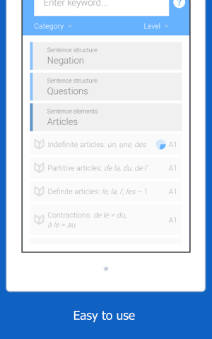 Dr French, French grammar 1.0.10 Screen 15