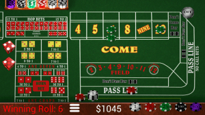 Craps Trainer Free 2.10 Screen 1