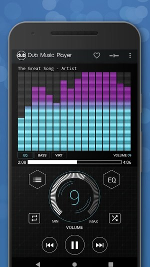 Android Dub Music Player - Free Audio Player, Equalizer 🎧 Screen 4