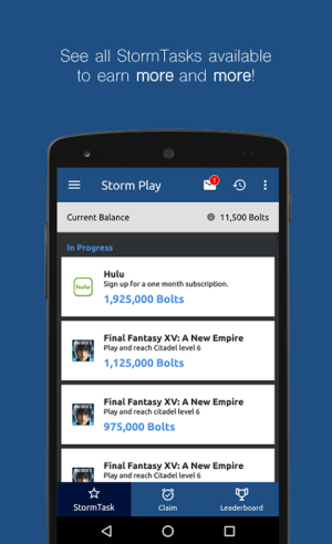 Android StormX: Shop and earn or play and earn free crypto Screen 3