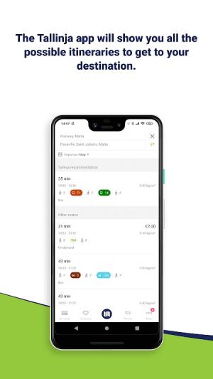 Tallinja - Plan your bus trip 2.0.24.release Screen 4