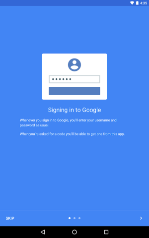 Google Authenticator 2.15 Screen 11