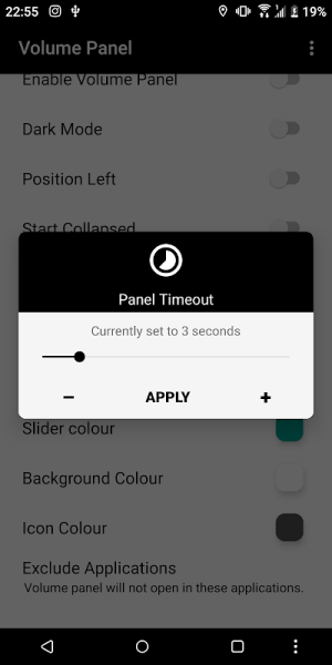 Volume Control Panel Pro 9.1 Screen 2