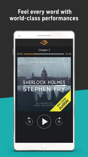 Audiobooks from Audible 2.26.0 Screen 5