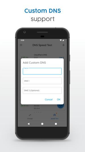 DNS Changer   Mobile Data & WiFi   IPv4 & IPv6 1187r Screen 5