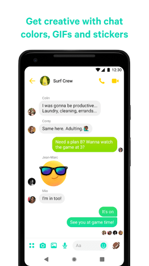 Messenger – Text and Video Chat for Free 261.0.0.0.3 Screen 4