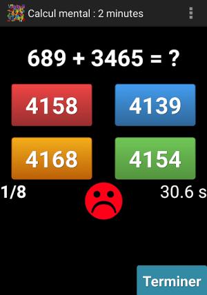 Mental Arithmetic 9.1 Screen 5