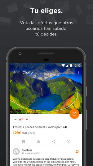 Chollometro – Chollos, ofertas y juegos gratis 5.9.04 Screen 1