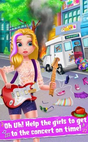 Android Rockstar Girls - Rock Band Screen 1