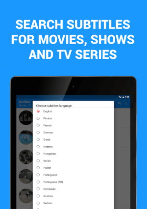 Subtitles for Movies & TV Series 1.3.1 Screen 8