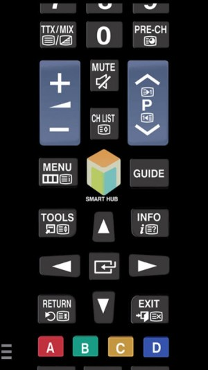 Android TV (Samsung) Remote Control Screen 1
