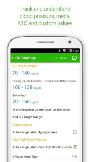 Diabetes & Diet Tracker 5.6.1 Screen 7