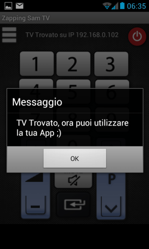 Android Remote Control TV Screen 2