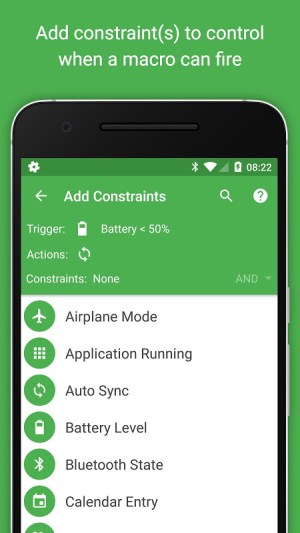 MacroDroid - Device Automation 4.9.6.1 Screen 3