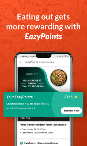 EazyDiner - Restaurant Deals And Table Reservation 6.5.7 Screen 1