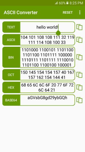 ASCII Converter - Text Encoder 1.2.4 Screen 2