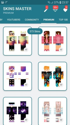 Android Skins MASTER for MINECRAFT (30 000 Skins) + Editor Screen 2