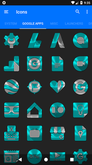 Android Cyan Icon Pack ✨Free✨ Screen 11