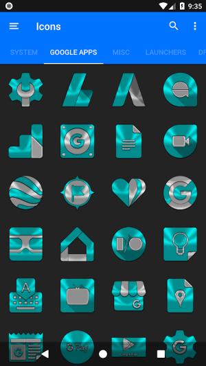 Cyan Icon Pack ✨Free✨ 3.8 Screen 11