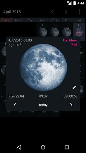 Simple Moon Phase Widget Plus 1.3.3 Screen 4