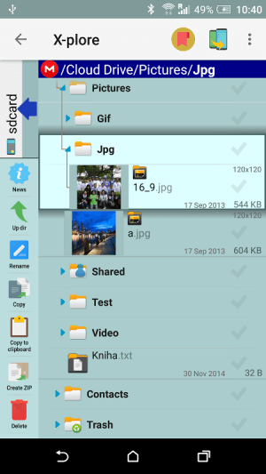 X-plore File Manager 3.92.12 Screen 10