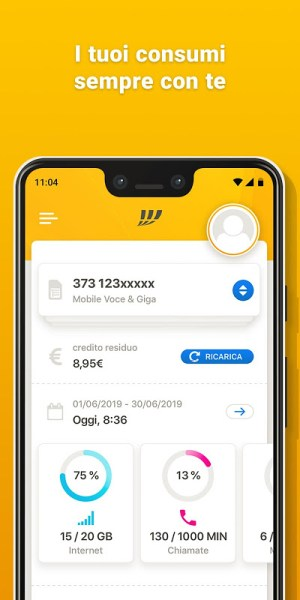 MyFastweb 4.4.18 Screen 9